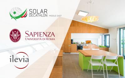 """ilevia e Università Sapienza di Roma al lavoro per il progetto """"Solar Decathlon Middle East"""""""