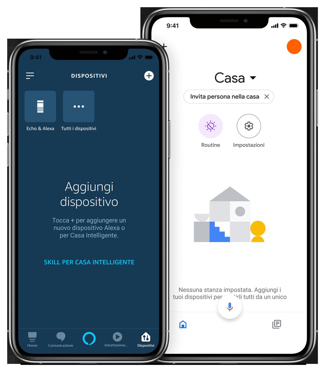App Alexa & Google